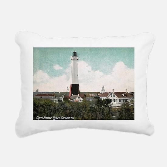 Tybee Island, Georgia Rectangular Canvas Pillow
