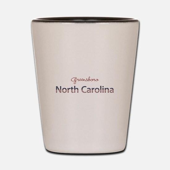 Custom North Carolina Shot Glass