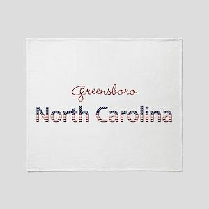 Custom North Carolina Throw Blanket