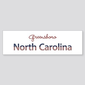 Custom North Carolina Sticker (Bumper)