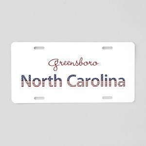 Custom North Carolina Aluminum License Plate