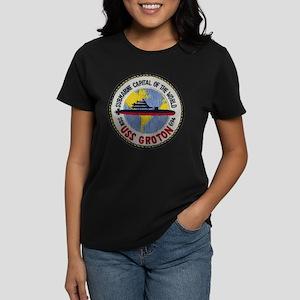 USS GROTON Women's Dark T-Shirt