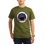 USS GREAT SITKIN Organic Men's T-Shirt (dark)