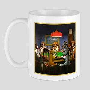 Poker Dogs Friend Mug