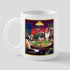 Poker Dogs Bluff Mug