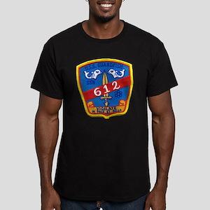 USS GUARDFISH Men's Fitted T-Shirt (dark)