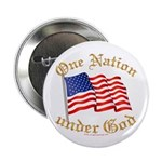 One Nation under God Button