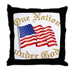 One Nation under God Throw Pillow
