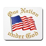 One Nation under God Mousepad