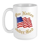 One Nation under God Large Mug