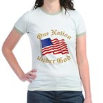 One Nation under God Jr. Ringer T-Shirt