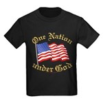 One Nation under God Kids Dark T-Shirt