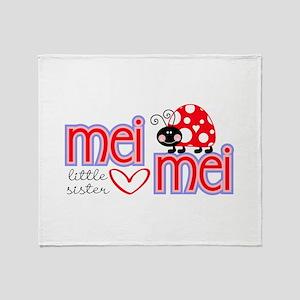 Mei Mei Throw Blanket