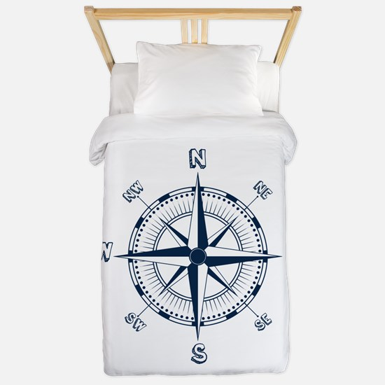 Nautical Compass Twin Duvet