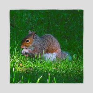Tree Squirrel Queen Duvet
