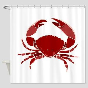 Crab Shower Curtain