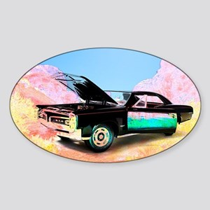 GTO at Valley of Fire Sticker (Oval)