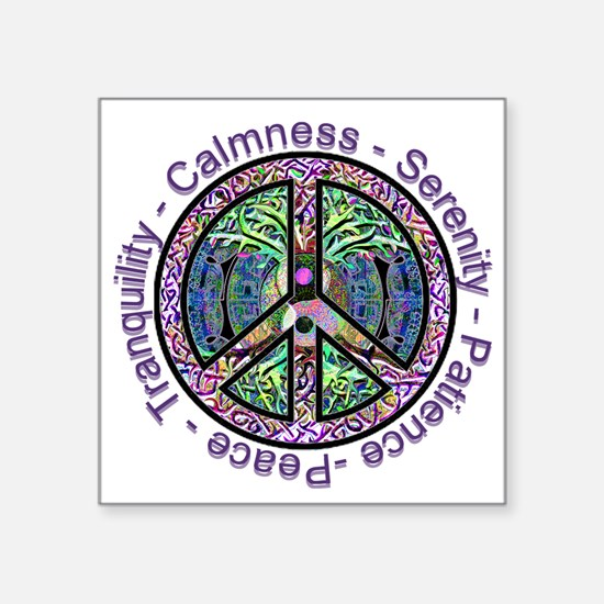 Serenity Patience Calmness Tranquility Sticker