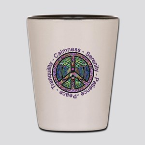 Serenity Patience Calmness Tranquility Shot Glass