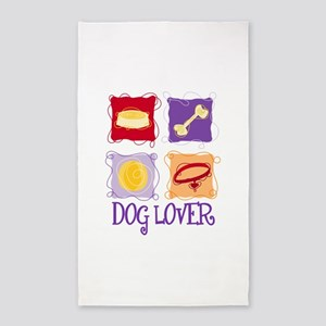 DOG LOVER 3'x5' Area Rug
