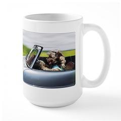Sticky Toffee Racing Mugs