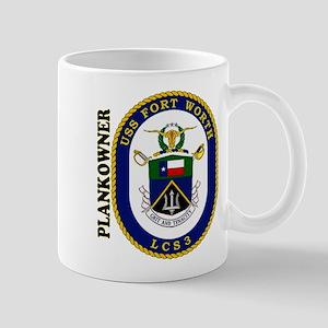 LCS-3 Plankowner Logo Mug