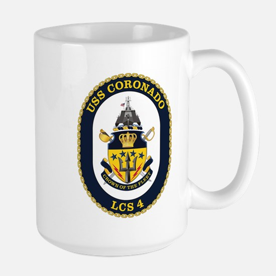 USS Coronado LCS-4 Large Mug