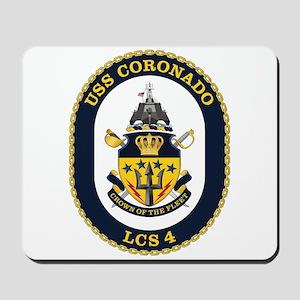 USS Coronado LCS-4 Mousepad