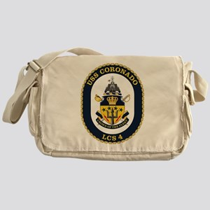 USS Coronado LCS-4 Messenger Bag