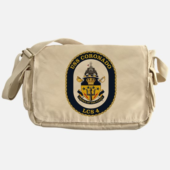USS Coronado LCS-4 Messenger Bag