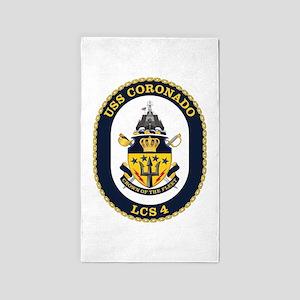 USS Coronado LCS-4 3'x5' Area Rug