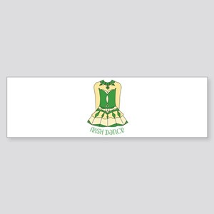 Irish Dance Bumper Sticker
