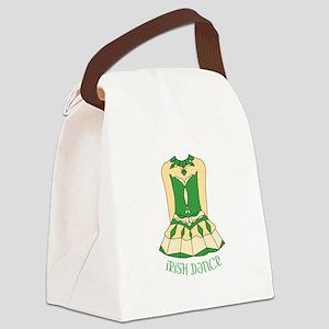 Irish Dance Canvas Lunch Bag