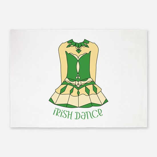 Irish Dance 5'x7'Area Rug