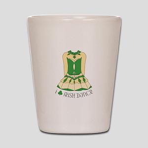 I Love Irish Dance Shot Glass