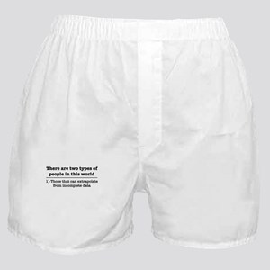 There are two kinds of people in this Boxer Shorts