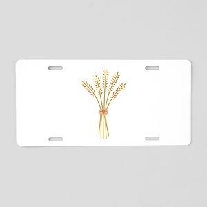 Wheat Bundle Aluminum License Plate