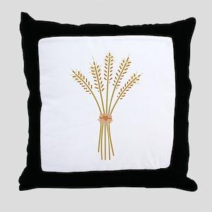 Wheat Bundle Throw Pillow