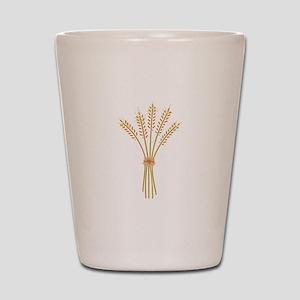 Wheat Bundle Shot Glass