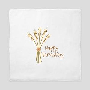 Happy Harvesting Queen Duvet