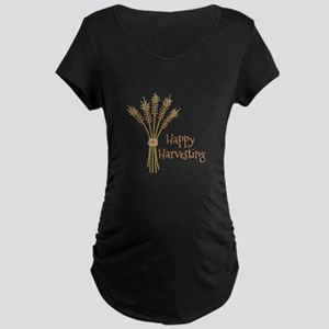 Happy Harvesting Maternity T-Shirt