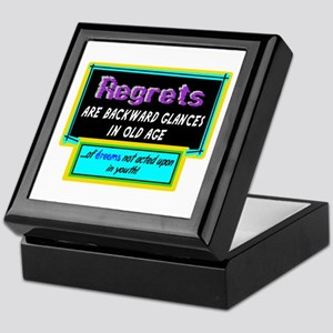 Regrets Keepsake Box