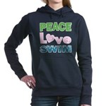 peace.love.swim Women's Hooded Sweatshirt