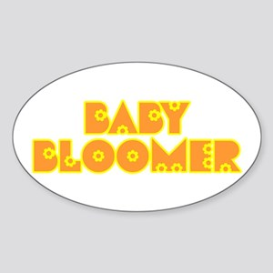 Baby Bloomer Oval Sticker