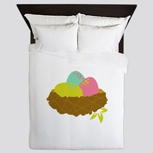 Easter Egg Nest Queen Duvet