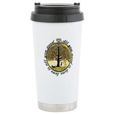 Tree of Life All You Need is Love Travel Mug