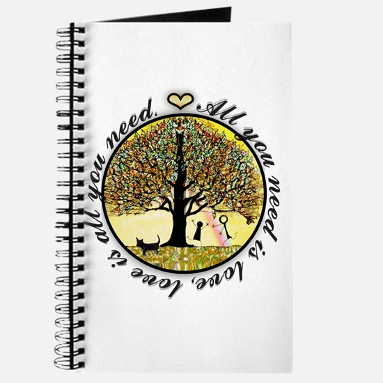 Tree of Life All You Need is Love Journal
