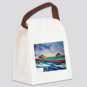 Lanikai Canoe Canvas Lunch Bag