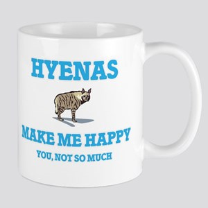 Hyenas Make Me Happy Mugs