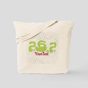Marathon Optional Text Tote Bag